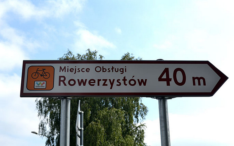 drogowskaz-miejsce-obslugi-rowerzystow